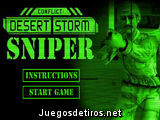 Desert Storm Sniper