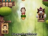 Mono en la selva