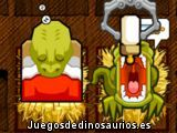 Alimenta al dinosaurio