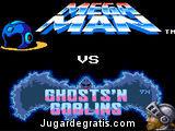 Megaman contra los zombies
