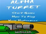 Alpha turret