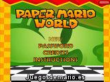 Mario en el mundo de papel