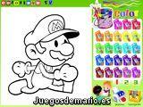Coloreando a Mario