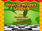 Mario Bros en el Mundo de Papel
