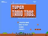 Mario Bros y Tetris