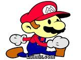 Pintando a Mario Bros