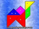 Tangram de color