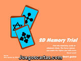 2D Memory Trial