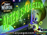 Jimmy Neutron Boy Genius Alien Invasion