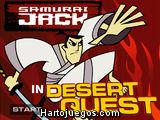 Samurai Jack en Búsqueda de Desierto