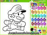 Colorie Mario