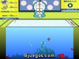 Doraemon pescador