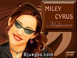 Maquillar a Miley Cyrus