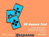 2D Memory Trial