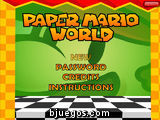 Mario World en el mundo de papel