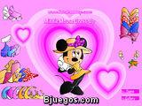 Maquillar y vestir a Minnie