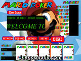 Mario Poker
