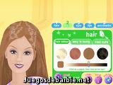 Maquillar a Barbie