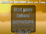 American Operation: War an Iraq