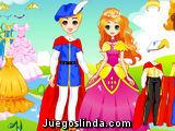 La princesa Linda y su príncipe