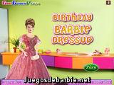Cena romántica de Barbie