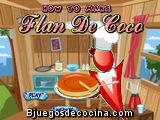 Juego de Cocina, Flan de Coco