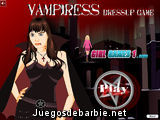 Vampiress Dressup Game