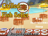 Grilled Fish Seller