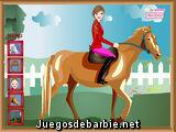 Alejandra en caballo