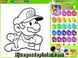 Colorear a Mario
