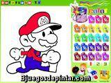 Colorear a Mario