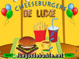 Chees Burgers de Luxe