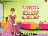 Viste a Barbie para su Fiesta de Cumpleaños