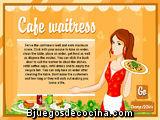 Una camarera en el café