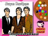 Pinta a los Jonas Brothers