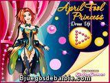 La princesa April