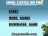 Luigi: Castle on Fire