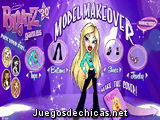 Bratz, modelo de revista