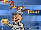 Tostadas de manzana