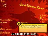 Carrera extrema de quad