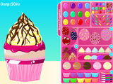 Decora el muffin