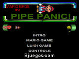 Mario Bros in Pipe Panic