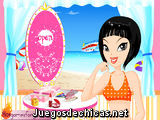 Chica lista para la Playa