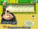 Sara's Cooking Class Paella