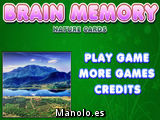 Brain Memory Nature Cards