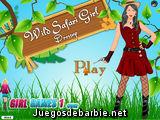 Wild Safari Girl