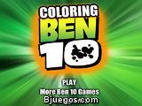 Coloring Ben 10