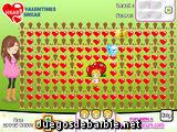 Corazones en San Valentín