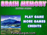 Brain Memory Nature Cards