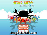 Crabs party: battle pong